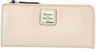 Dooney & Bourke Saffiano Zip Clutch