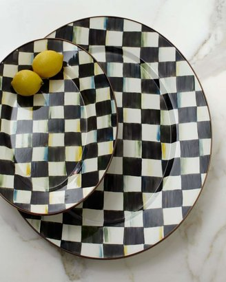 Mackenzie Childs MacKenzie-Childs Courtly Check Oval Platters