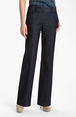 Halogen 'Taylor' Curvy Fit Denim Pants