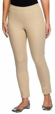 Isaac Mizrahi Live! Regular 24/7 Stretch Ankle Pants