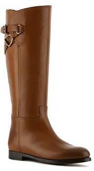 Ralph Lauren Sachi Leather Riding Boot