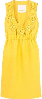 Karta Embellished shift dress