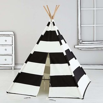 A Teepee to Call Your Own (Black Stripe) $159 thestylecure.com