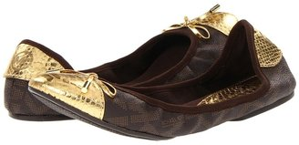 MICHAEL Michael Kors MK City Ballet (Brown Pvc) - Footwear