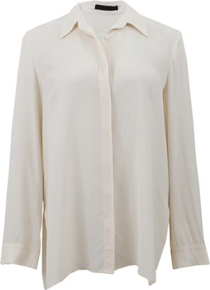 The Row Button Front Blouse