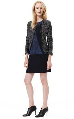 Rebecca Taylor Snowflake Tweed Jacket