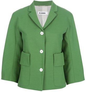 Jil Sander boxy button-up jacket
