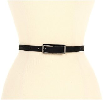Calvin Klein 5/8 Logo Ctrbar On Cord.Sued (Black) - Apparel