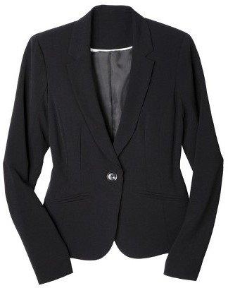 Xhilaration Single Button Blazer Black