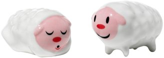 Alessi Little Sheep Figurines Christmas Decorations, Set of 2