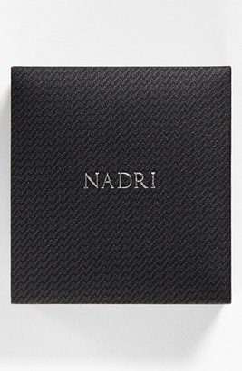 Nadri Boxed Framed Pear Drop Necklace