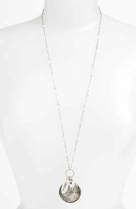 Nordstrom 'Tinseltown' Long Cluster Pendant Necklace