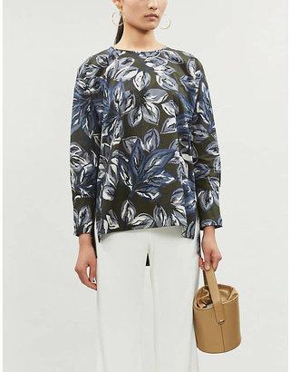 Max Mara S Ginger floral-print cotton top