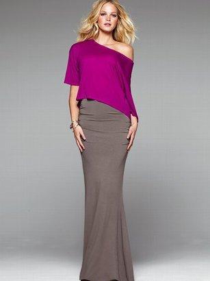 Victoria's Secret Ruched Maxi Skirt
