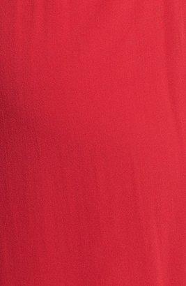 Jill Stuart Jill Pleated Stretch Silk Gown