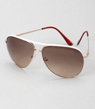Fred Flare Gold Blake Aviators