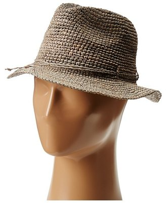 Hat Attack Julia W/Self Trim (Taupe/Self) - Hats
