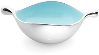 Lunares Oyster Bowl Small Blue