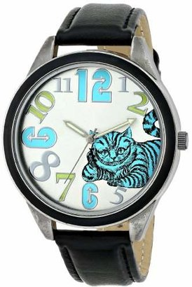 Alice in Wonderland Women's AL1002B Cheshire Cat Watch with Black Strap $31.99 thestylecure.com