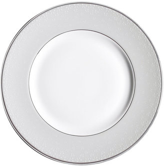 "Monique Lhuillier Waterford ""Pointe d'esprit"" Bows Accent Plate, 9"""