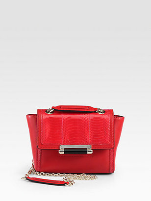 Diane von Furstenberg Multi-Textured Leather Crossbody Bag