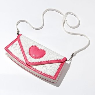 Vera Wang Princess lucy heart clutch