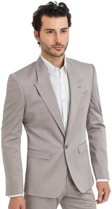 GUESS by Marciano Garage Grey Suit Jacket – Super Slim Fit