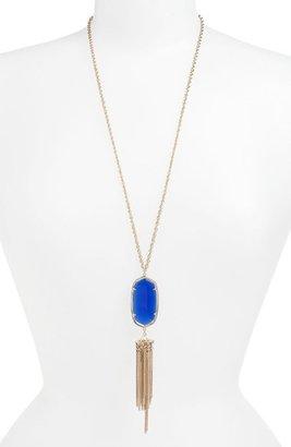 Kendra Scott Women's Rayne Stone Tassel Pendant Necklace