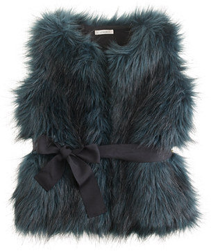 J.Crew Girls' fiona faux-fur vest