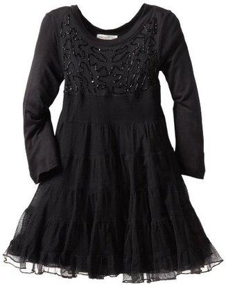Mimi & Maggie Girls 2-6X Kids Midnight Party Dress