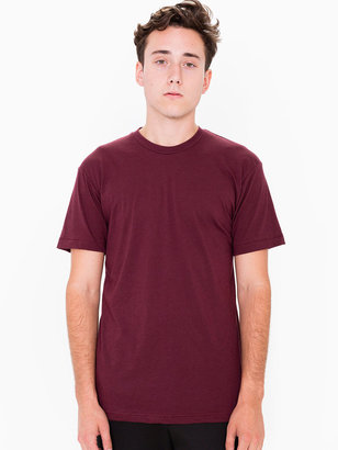 American Apparel Poly-Cotton Short Sleeve Crew Neck