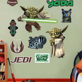 Star Wars the yoda wall decals by fathead