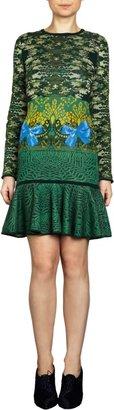 Mary Katrantzou Expandit Long sleeve Dress Sale up to 60% off at Barneyswarehouse.com