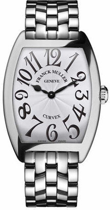 Franck Muller Ladies Curvex Stainless Steel Watch