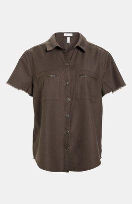 Leith 'Mechanic' Shirt Brown- Major Medium