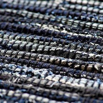True Blue 6 x 9' Rag Rug