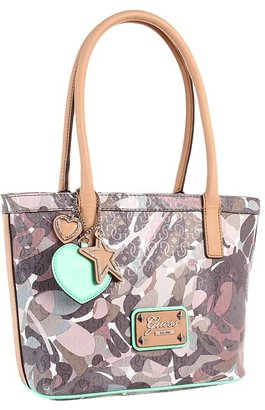 GUESS Airun Small Carryall (Taupe Multi) - Bags and Luggage