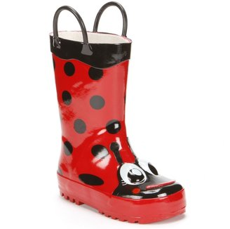 Western Chief Ladybug Rain Boots - Toddler Girls