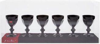 Baccarat Set Of Six Crystal Glasses