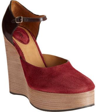Chloé Platform Wedge Sandal
