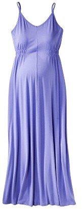 Maternity Sleeveless Maxi Dress
