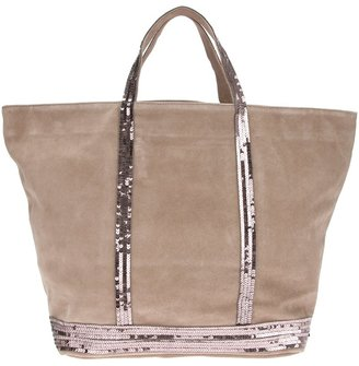 Vanessa Bruno sequin detail shopper bag