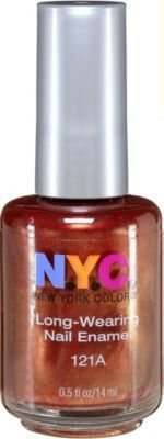 Ulta N.y.c. New York Color Long Wearing Nail Polish