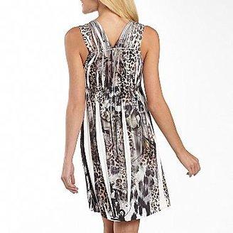 JCPenney Unity World Wear® Print V-Neck Dress - Petite