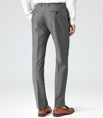 Reiss Youngs T WOOL BLEND SUIT TROUSERS