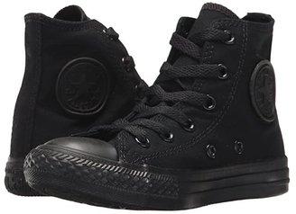 Converse Chuck Taylor(r) All Star(r) Core Hi (Little Kid) (Black/Monochrome) Kids Shoes