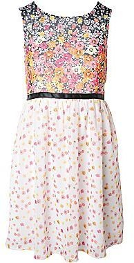 JCPenney Pinky Floral Chiffon Dress - Girls 7-16