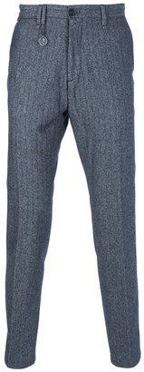 Messagerie tweed tailored trousers