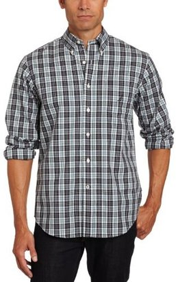Nautica Men's Long Sleeve Wrinkle Resistant Tartan Plaid Shirt