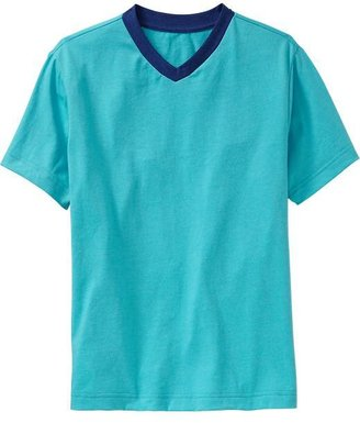 Old Navy Boys V-Neck Ringer Tees